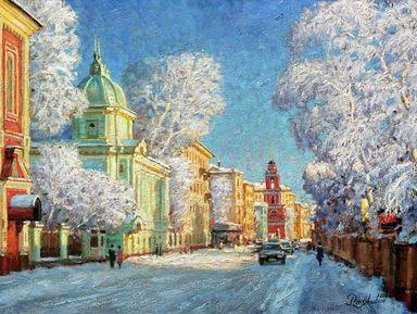 Отпоста досвяток— рождественские истории Москвы