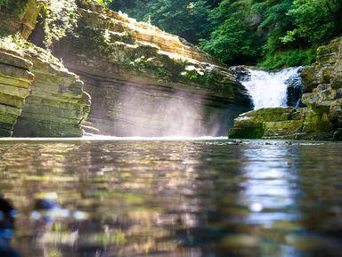 Мини-поход вканьоны реки Псахо