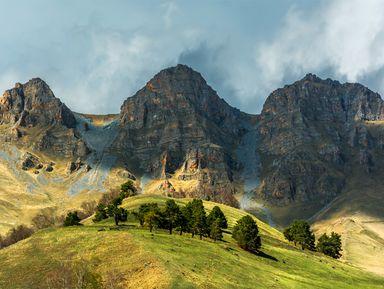Один день вИнгушетии: горы, башни, водопады