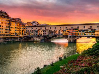 Экскурсия в Флоренции: Групповая обзорная прогулка по вечерней Флоренции