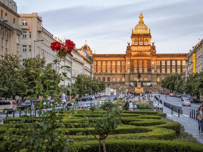Блиц-прогулка по Праге