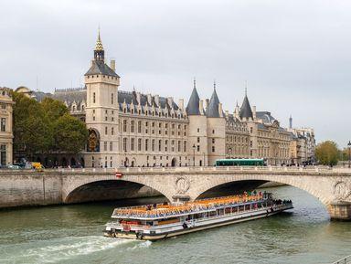 Пешеходно-лодочная экскурсия по Парижу
