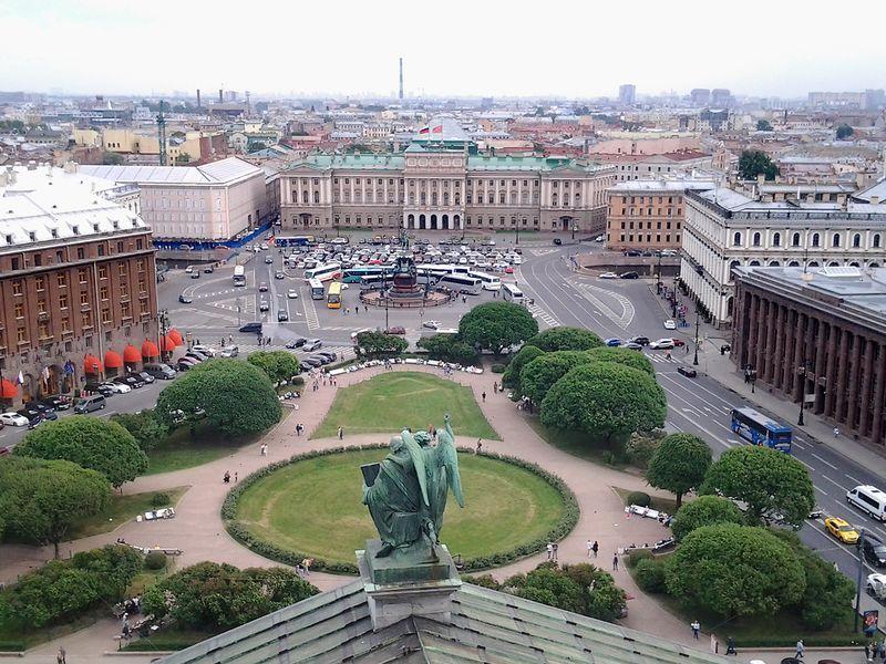 Экскурсия История трех старейших площадей Петербурга
