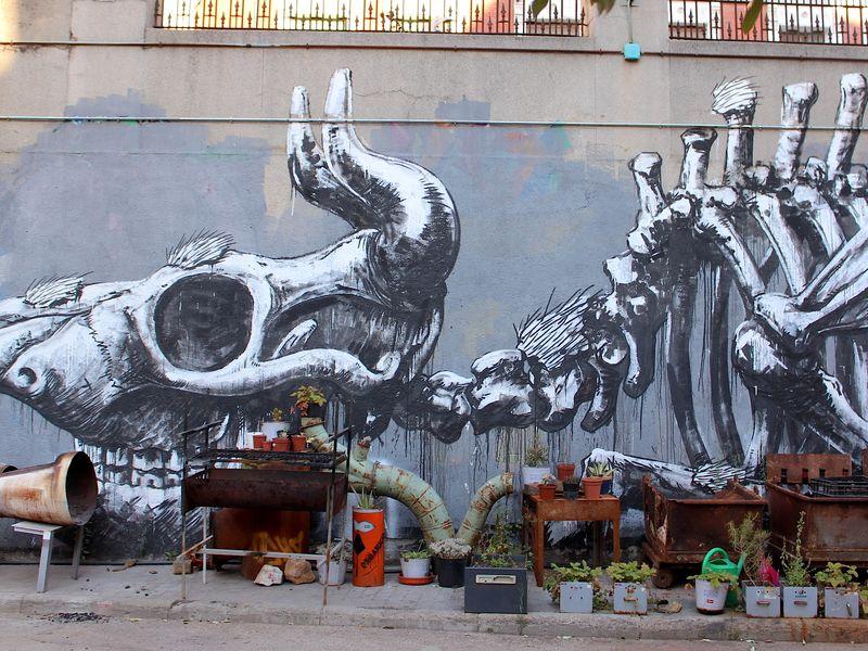 Экскурсия Искусство мадридских улиц