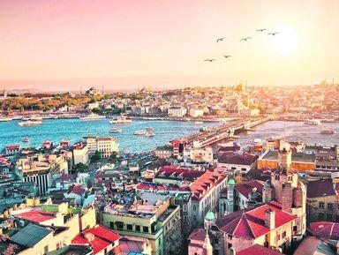 Стамбул отрассвета дозаката