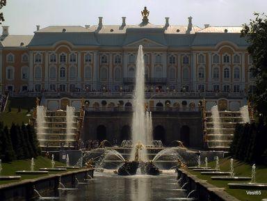 Петергоф: Нижний и Верхний парки, фонтаны