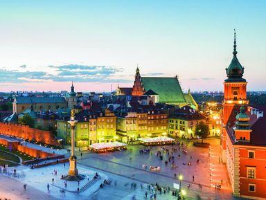 По улицам прекрасной Варшавы