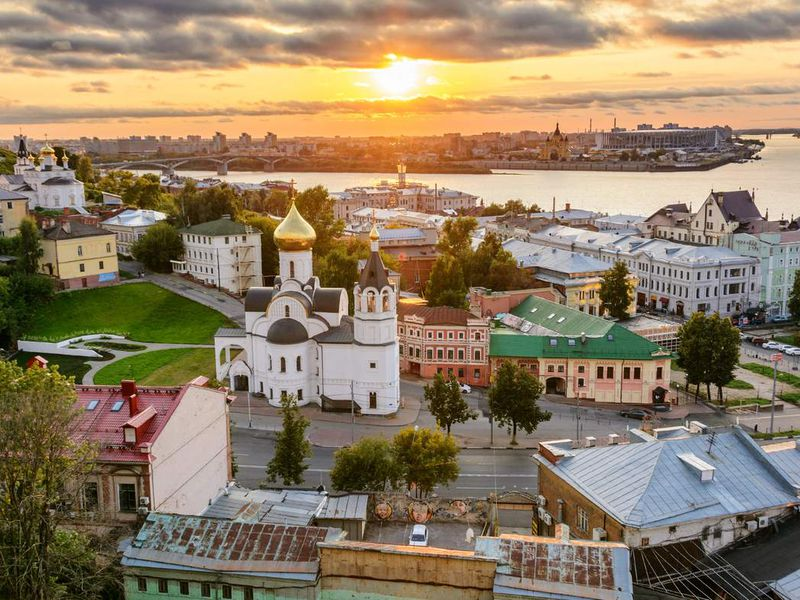 Добро пожаловать в Нижний Новгород!