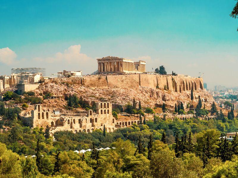 Фото: Древние Афины: погружение в историю Греции