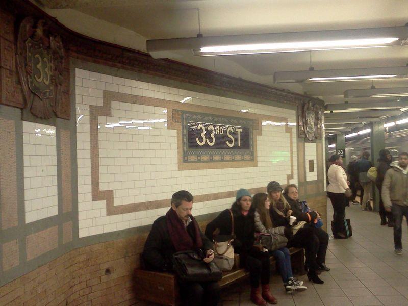 Экскурсия Эстетика нью-йоркского метро