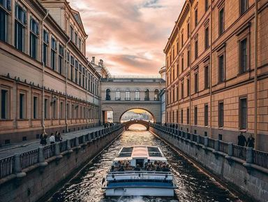 Порекам иканалам: Петербург своды