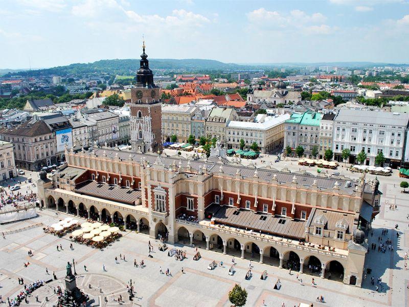 Экскурсия По старинному Кракову