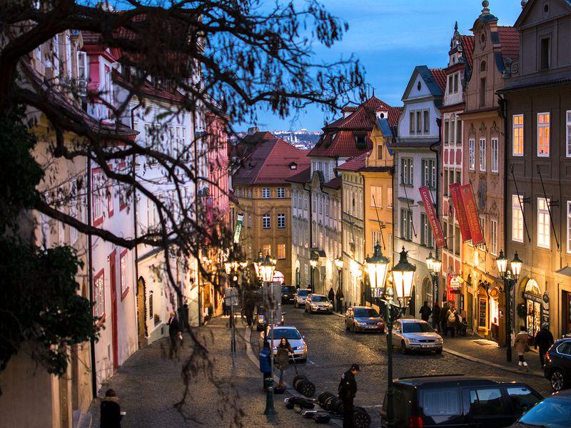 Экскурсия Прага светерком: авто-пешеходная экскурсия