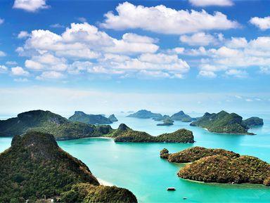 Тысяча и один остров морского парка Анг Тонг