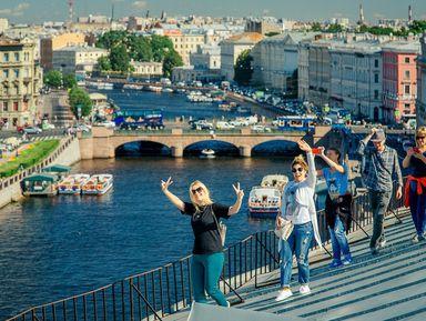 """Экскурсия """"От крыши к крыше в центре Петербурга"""": фото"""