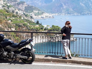 На мотоцикле с ветерком