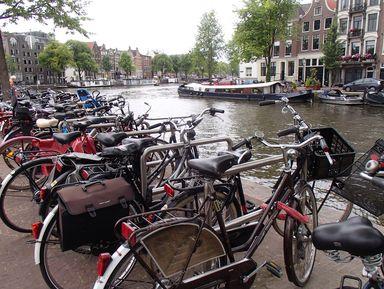 Верхом на двухколесном друге по Амстердаму и округе!
