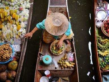 Яркие рынки Бангкока