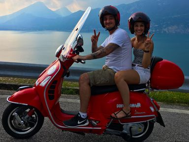 """День над Гардой - поездка на скутере вокруг итальянского """"фьорда"""""""