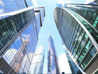 Идеи стеклянной архитектуры на прогулке по Москва-Сити