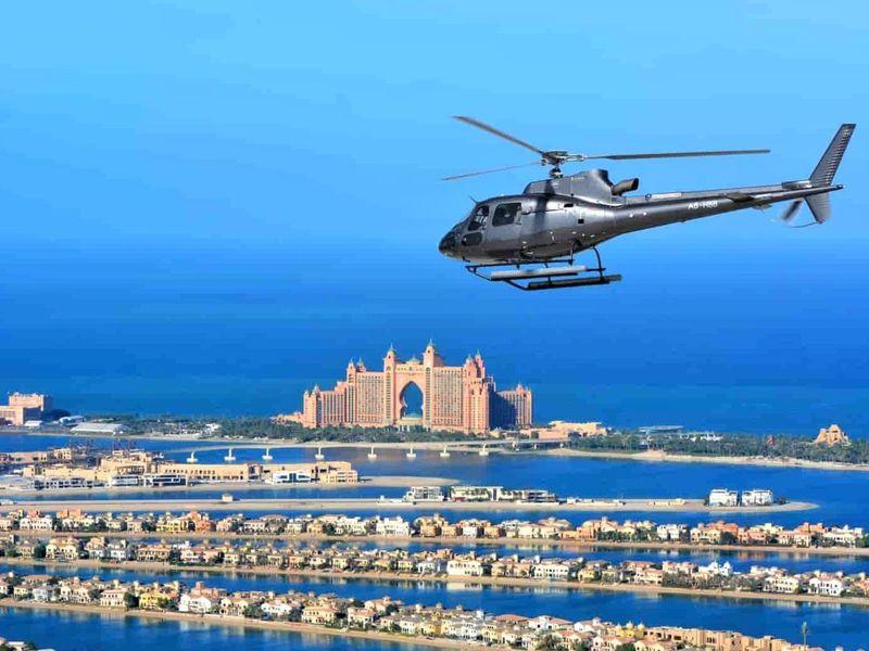 Экскурсия Полет над Дубаем на вертолете!