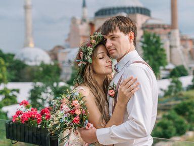 Два влюбленных сердца в Стамбуле