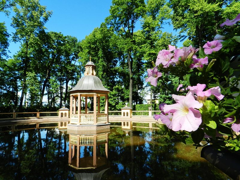 Экскурсия Экскурсия-квест для детей по Летнему саду