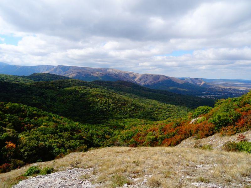 Природа и места силы горы Чатыр-Даг width=