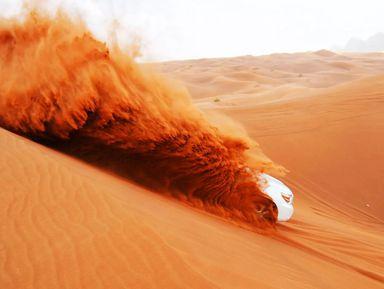 Джип-сафари по дубайской пустыне