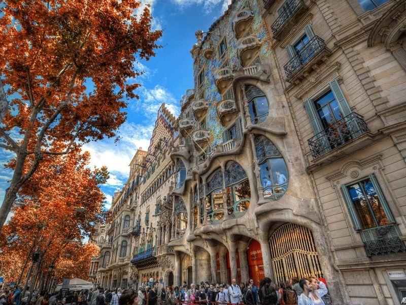 Фото: Ежедневная прогулка по Барселоне