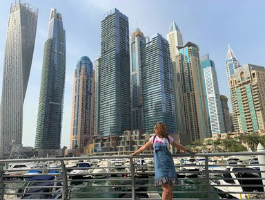 Дубай: пустыня, бьющая мировые рекорды