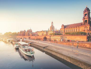Пешком по старому Дрездену