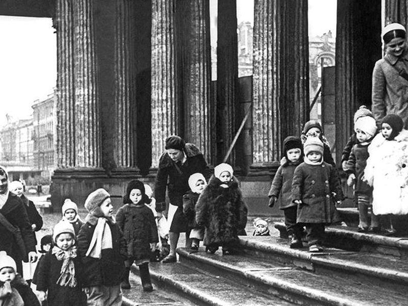 Экскурсия Дети и детство в блокадном Ленинграде