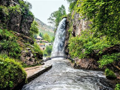Горы и Медовые водопады — из Пятигорска