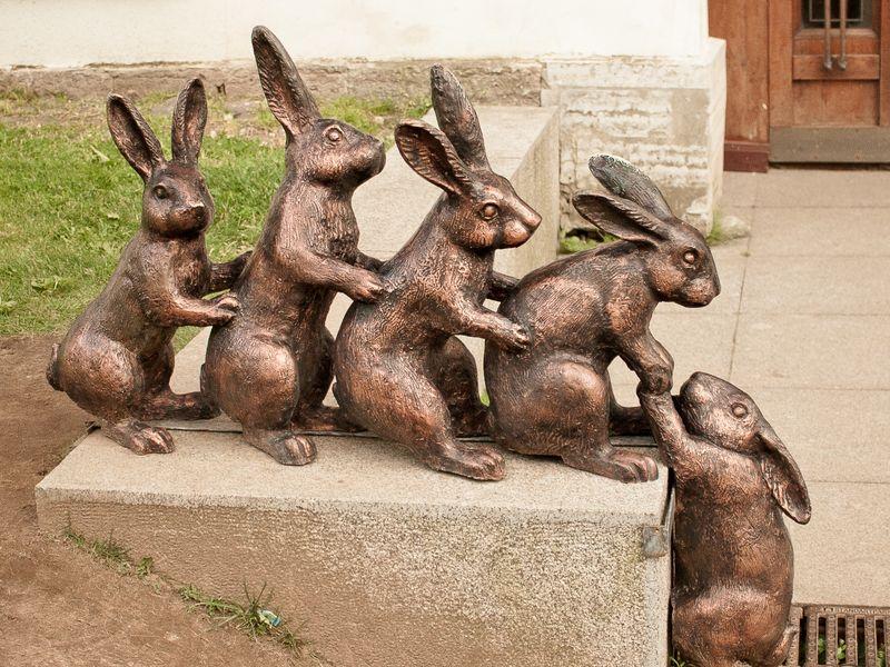 Экскурсия Сколько зайцев в Петербурге?