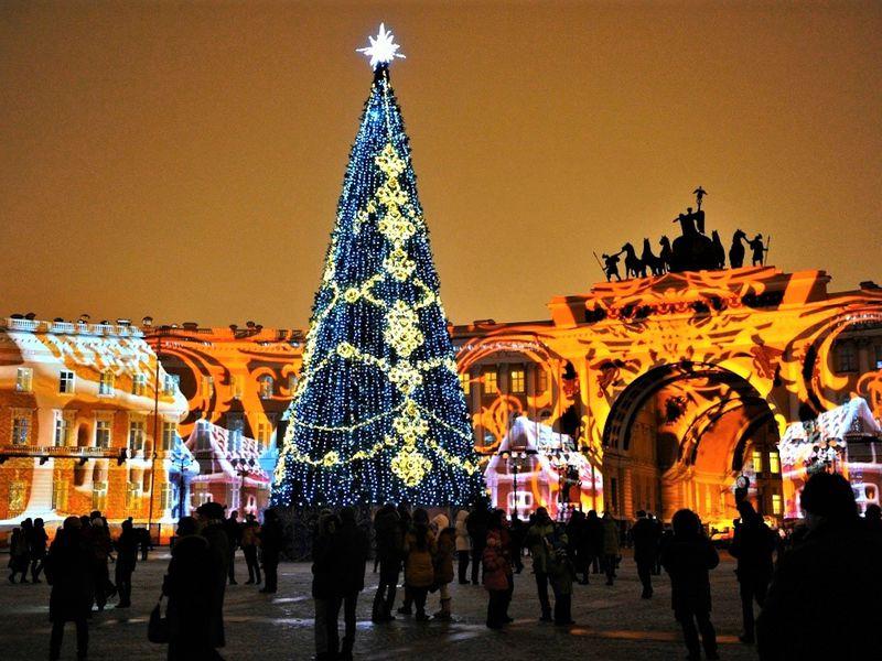 Экскурсия Новогодние забавы Петербурга