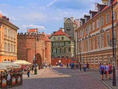 Первое знакомство с Варшавой