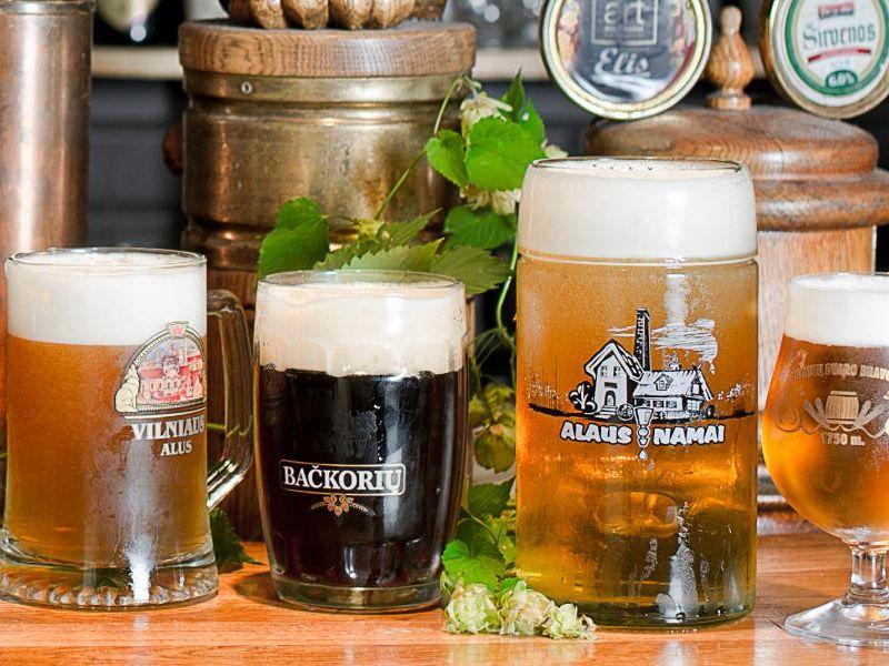 Экскурсия Дегустация литовского пива