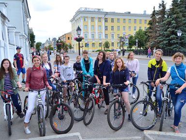 По Казани на велосипеде