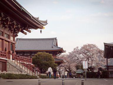 Экскурсия в Токио: Японский Будда Нитирэн