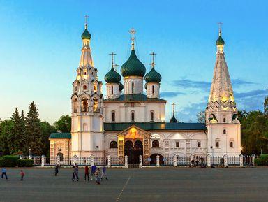 Обзорная экскурсия по центру Ярославля