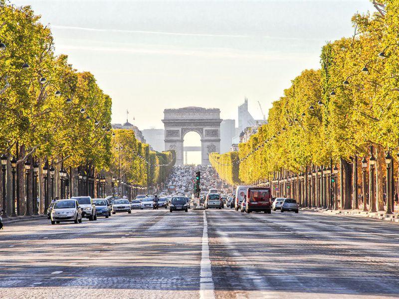 Экскурсия По Парижу с ветерком