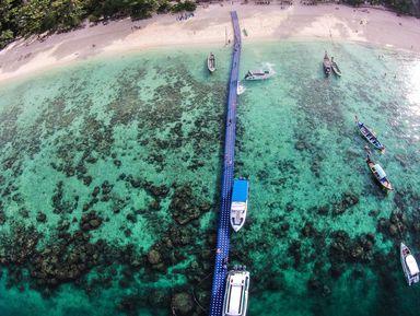 Идеальный день на острове Корал