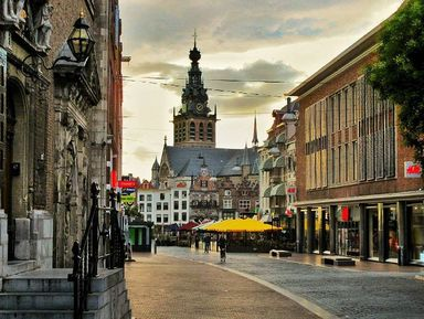 Неймеген: средневековый шарм иуют по-голландски