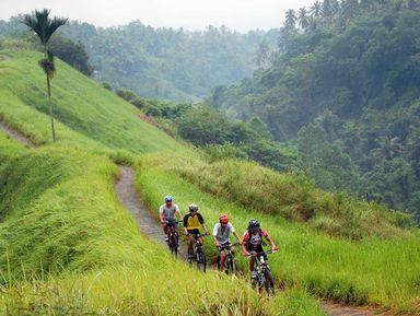 По Бали на велосипеде!