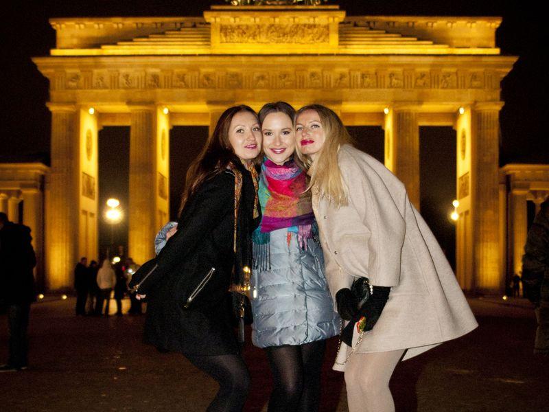 Фотосессия в центре Берлина