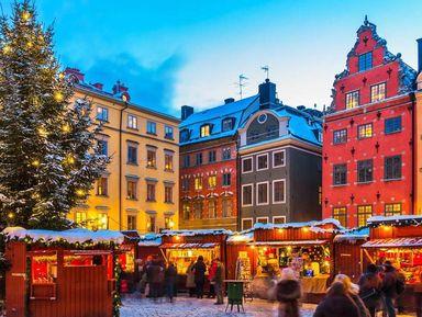 Прогулка по рождественскому Стокгольму!