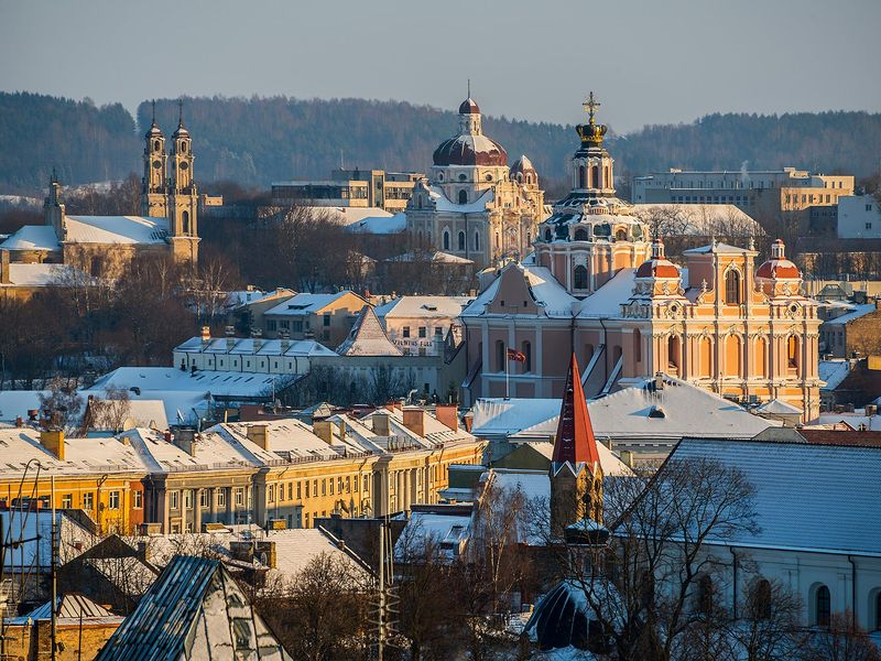 Экскурсия Зимняя сказка Вильнюса