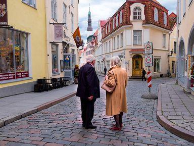 Романтическая прогулка по Таллину