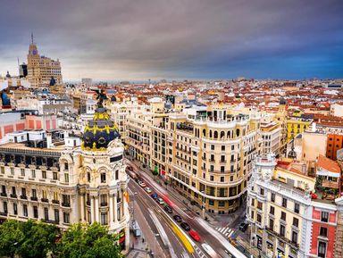 О Мадриде с легкостью и юмором!